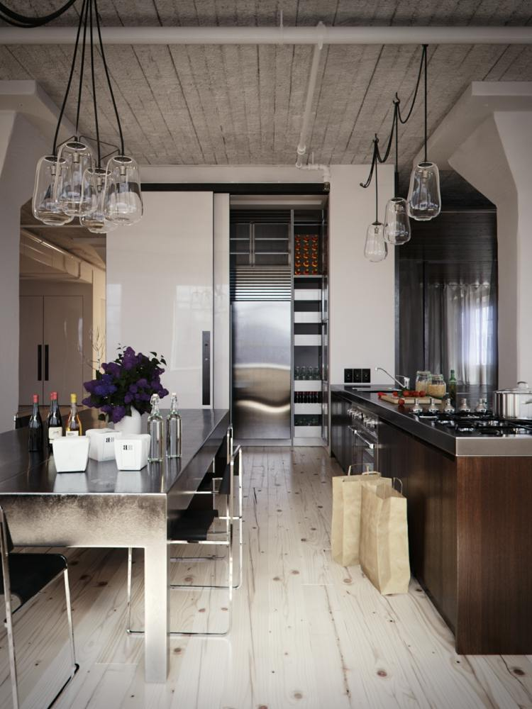 Diseños cocinas pequeñas modernas - cincuenta modelos -
