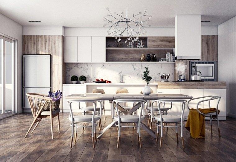 original diseño cocina nórdica moderna