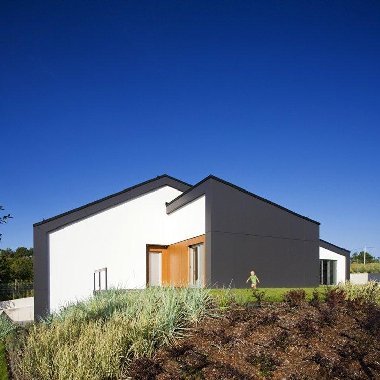 original diseño fachada jardín