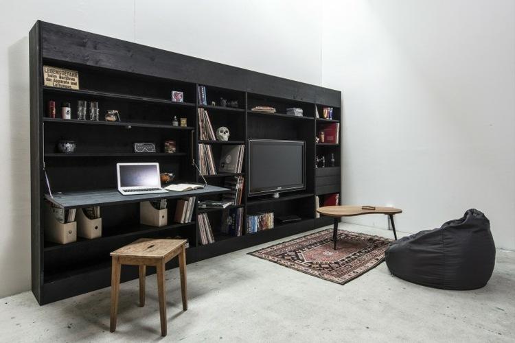 original diseo mueble tv salon