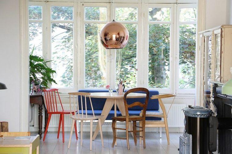 original diseño muebles comedor colores