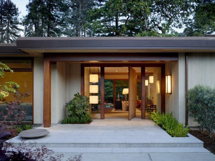 original diseño terraza moderna puerta