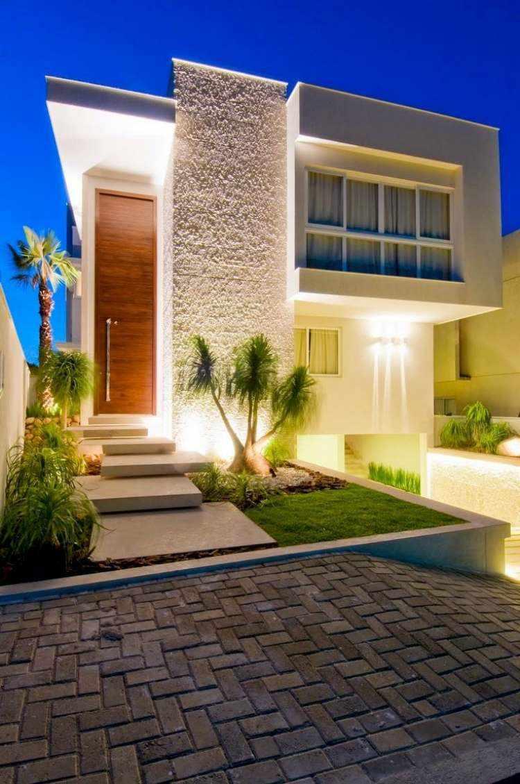 Minimalismo en el jard n 100 dise os paisaj sticos for Casas de chapa para jardin