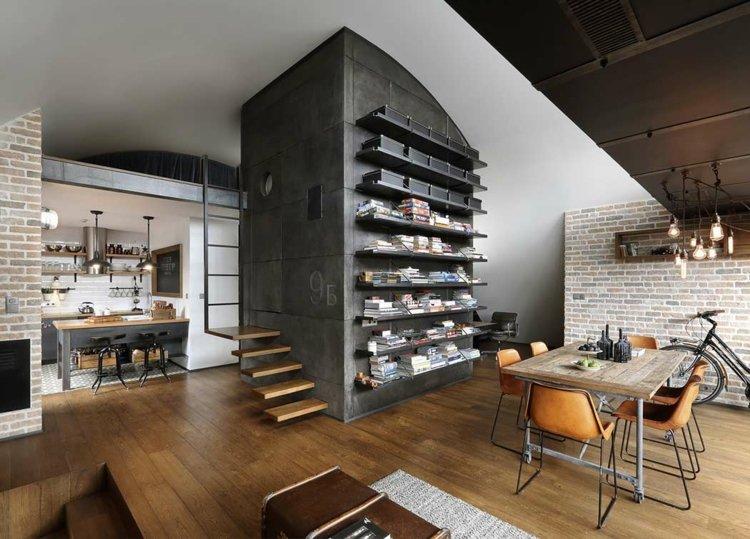 Librerias para salon dise os modernos y funcionales - Libreria para salon ...