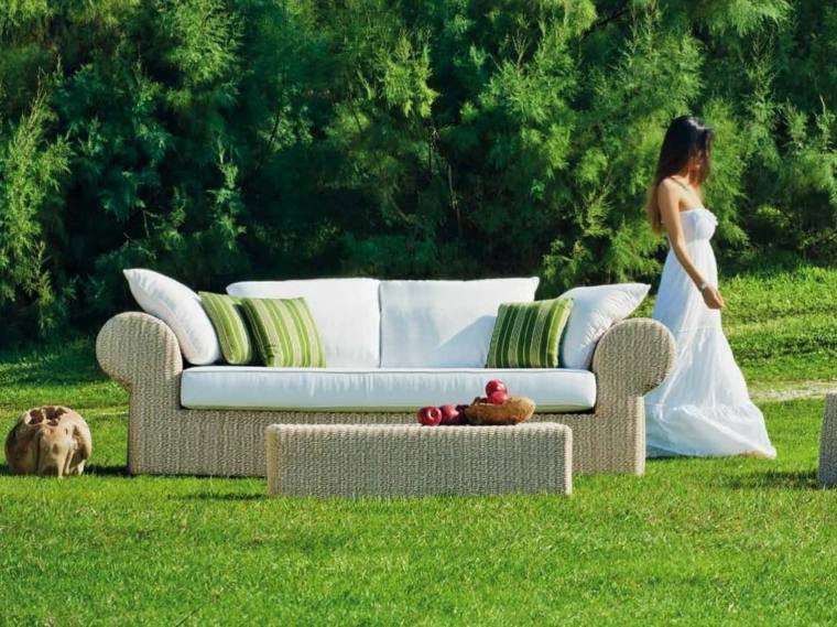 original sofa jardin diseño