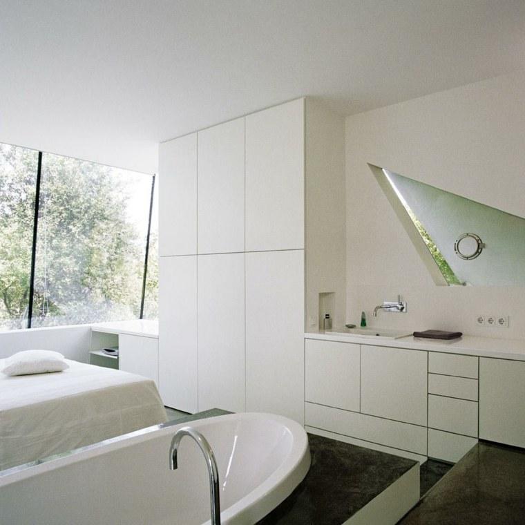 originales cuartos de baño minimalistas
