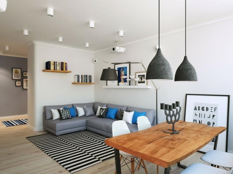 Decoraci n de salones modernos muebles y accesorios for Muebles modernos 2016