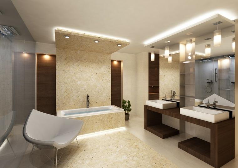 originales diseños cuartos baño