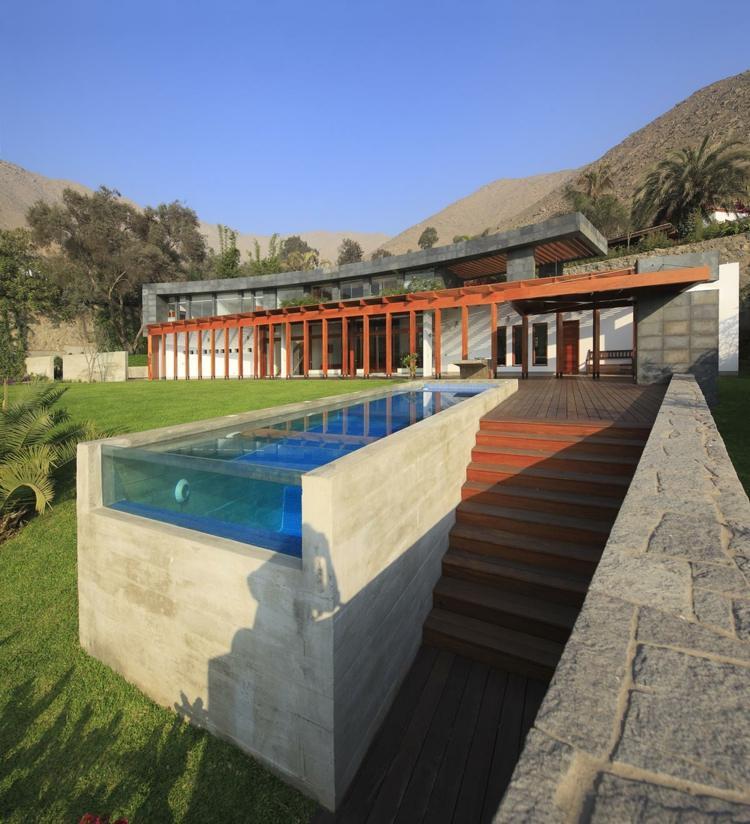 Piscinas de fibra de vidrio los 25 dise os m s modernos - Diseno de piscinas modernas ...