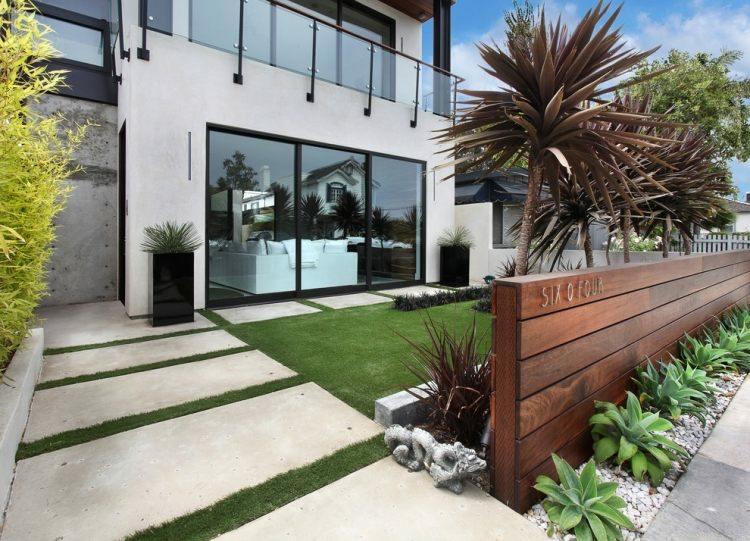 originales jardines diseño minimalista