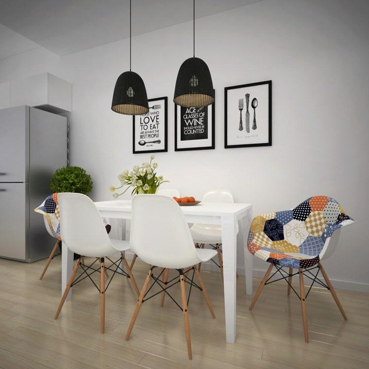 originales muebles comedor nórdicos