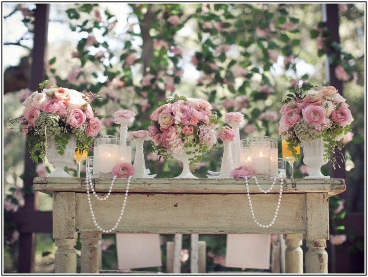 Decoracion de bodas vintage ambientes rom nticos retro - Decoraciones bodas vintage ...