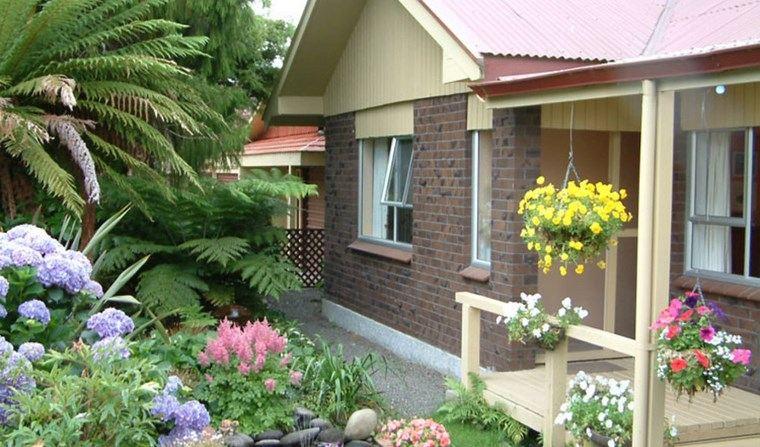 paisajismo flores primavera decoracion exterior casa ideas