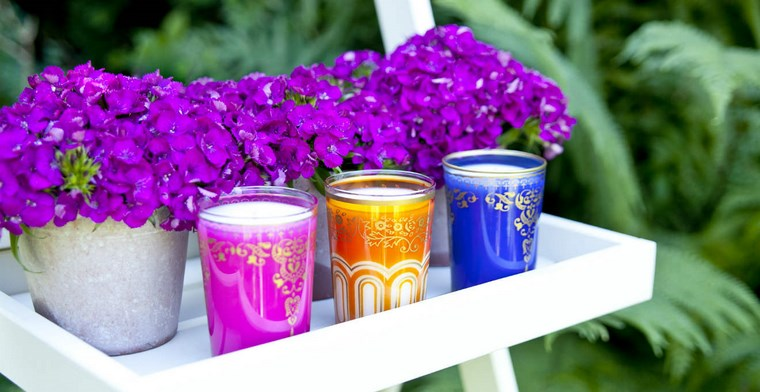 paisajismo flores primavera jardines flores purpura ideas