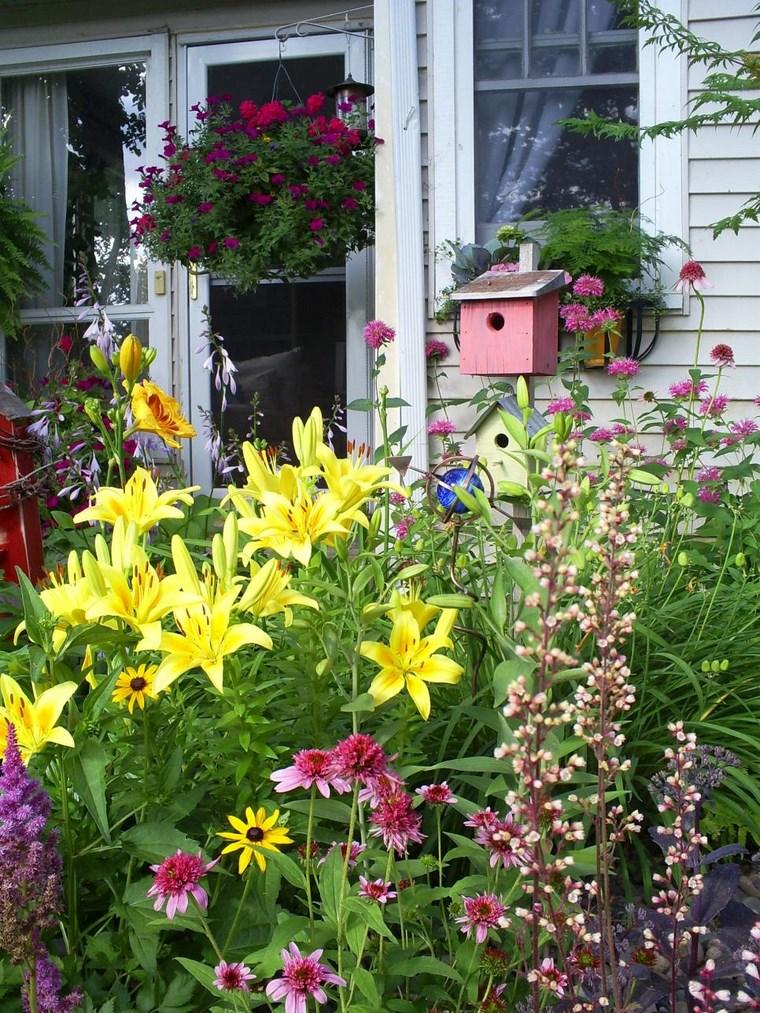 paisajismo primavera jardines flores ideas
