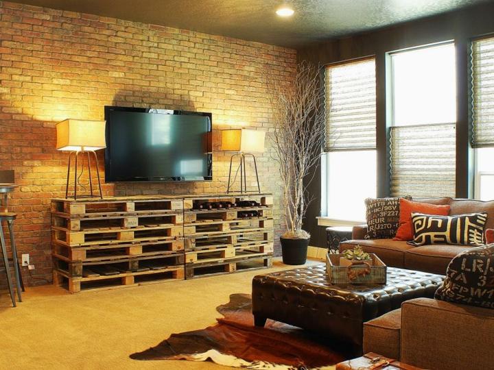 palet creatividad bases muebles ladrillos fuentes