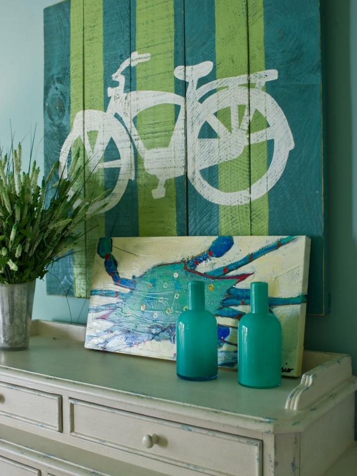 palet creatividad bicicletas puentes muebles