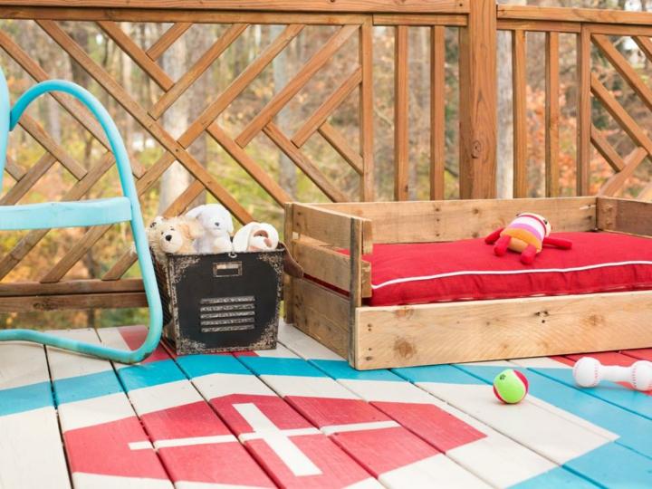 palet creatividad soluciones coloridos cama