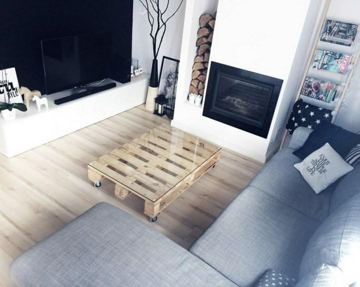 palet creatividad soluciones muebles funciones leña