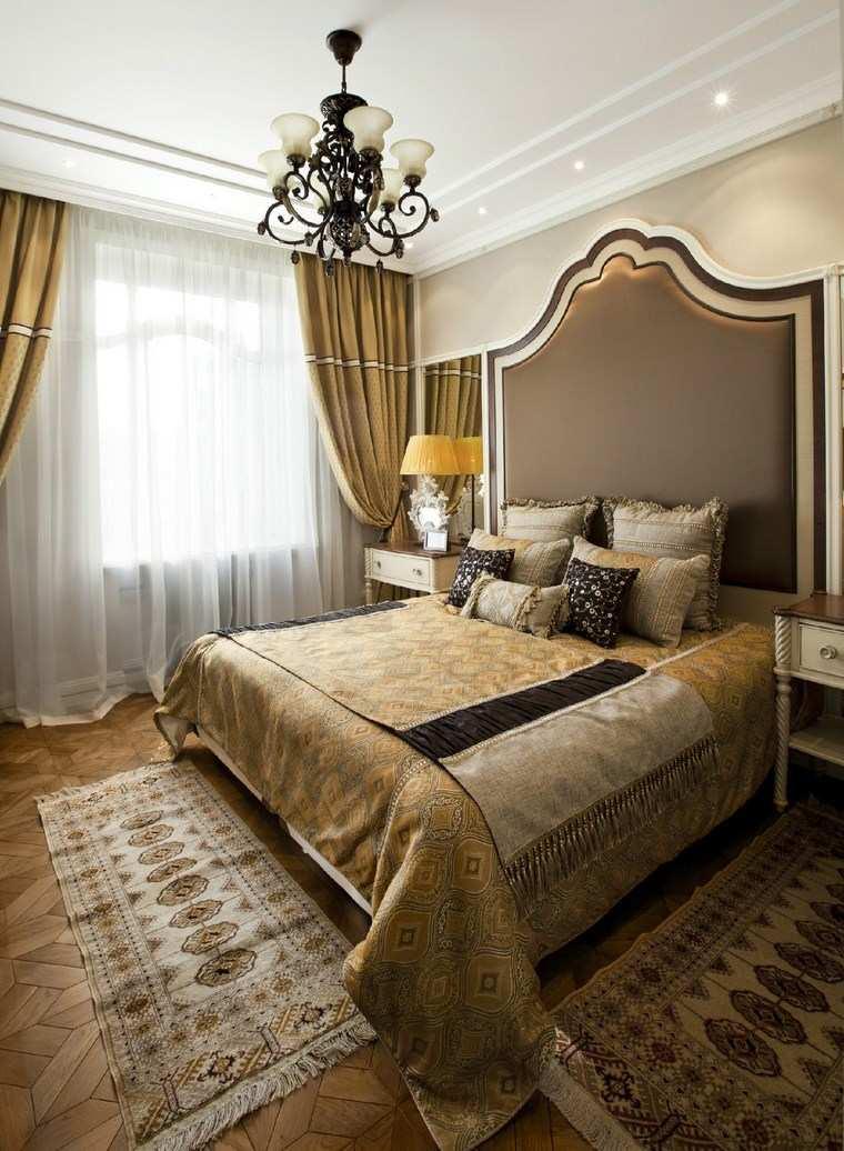 pared dormitorio moderno cama respaldo precioso ideas