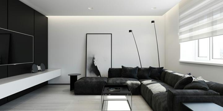 paredes arte detalles salidas negro luminosas