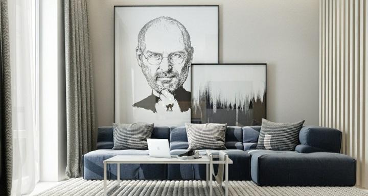 paredes arte detalles sentidos grises ojines cristales