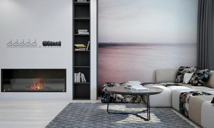paredes blancas chimeneas casas imagenes