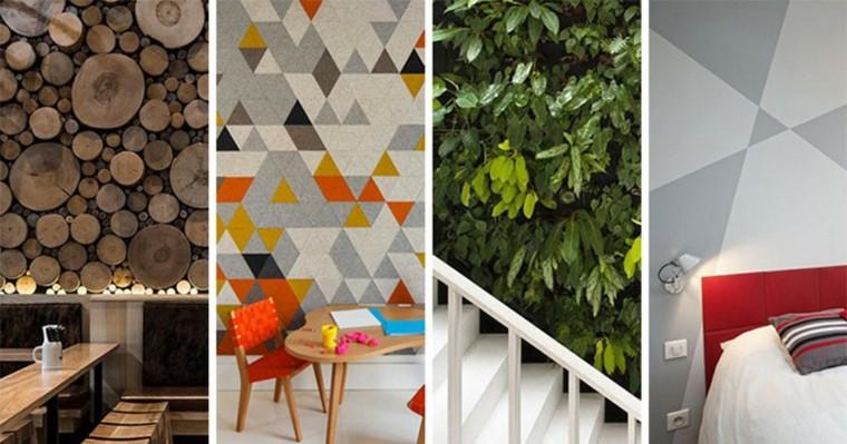 paredes creatividad diferencias estilos soluciones