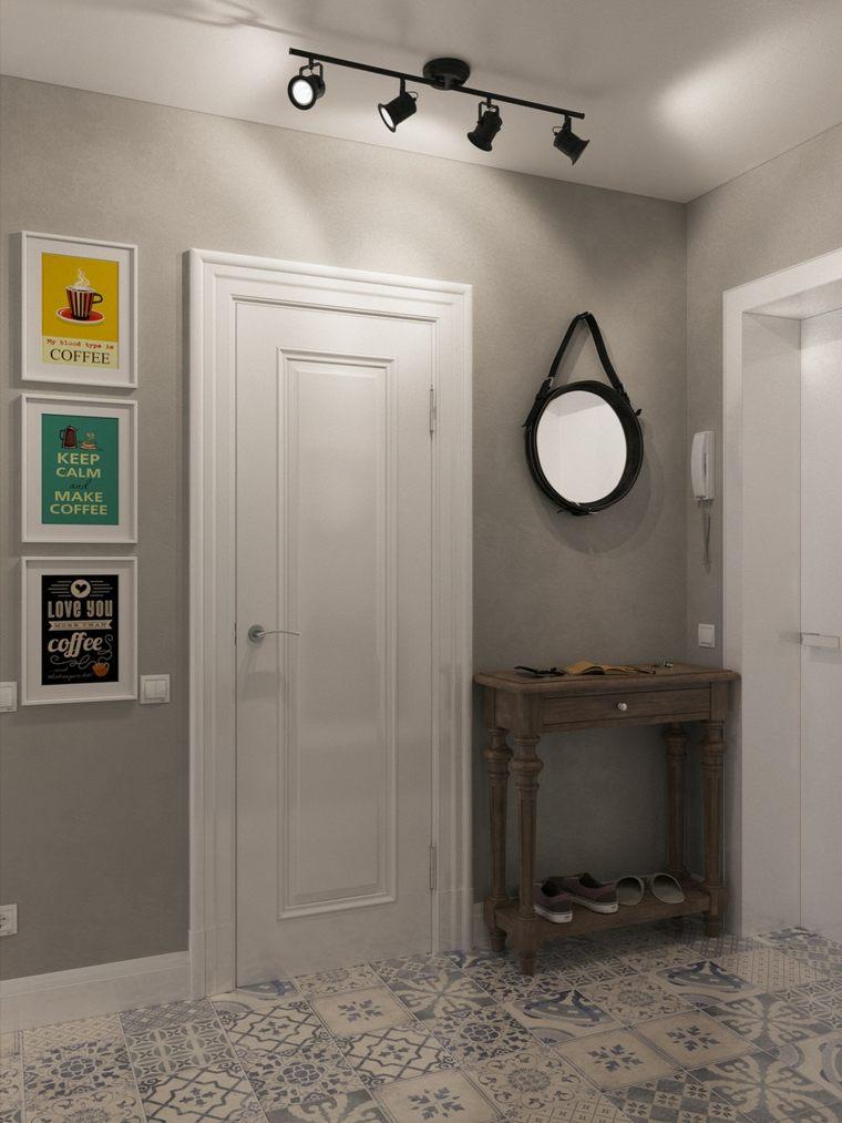 Apartamentos distribucion y dise o para interiores peque os for Paredes focales