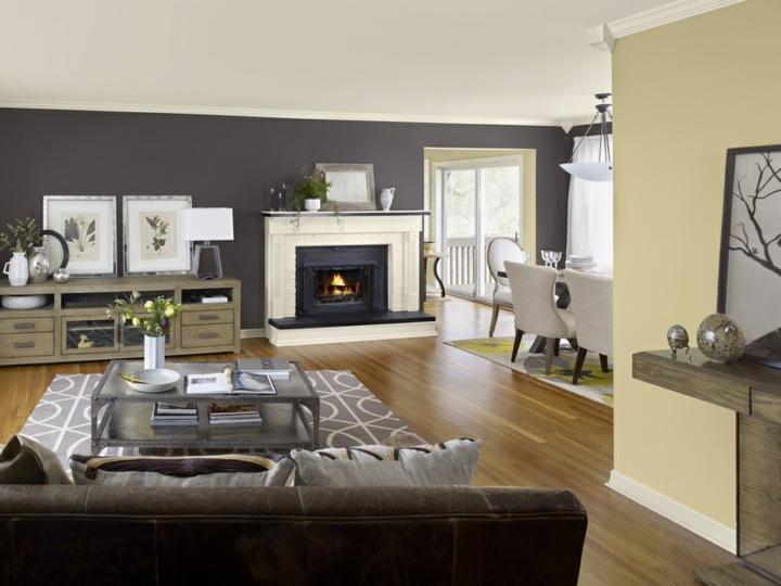 paredes grises tonos atarctivos salones lineas