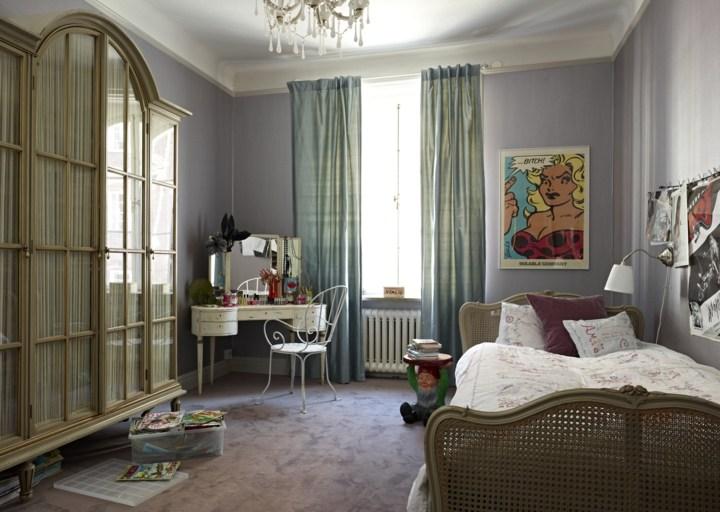 paredes grises tonos personales salas juguetes lamparas