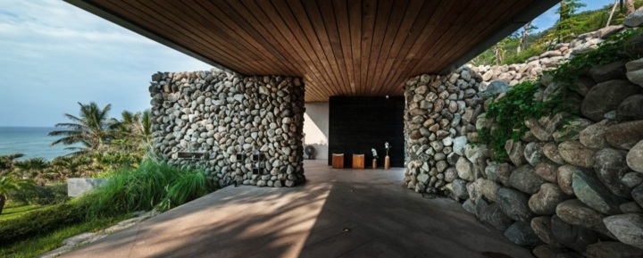 paredes muros rocas metales zonas macetas