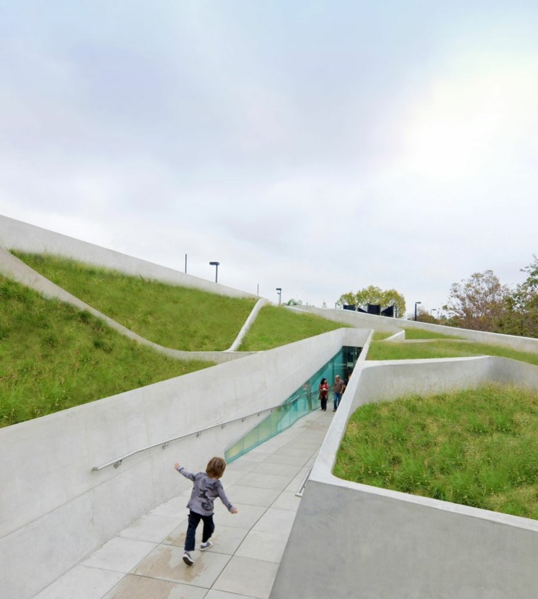 pasillos arquitectura azoteas terrazas verdes