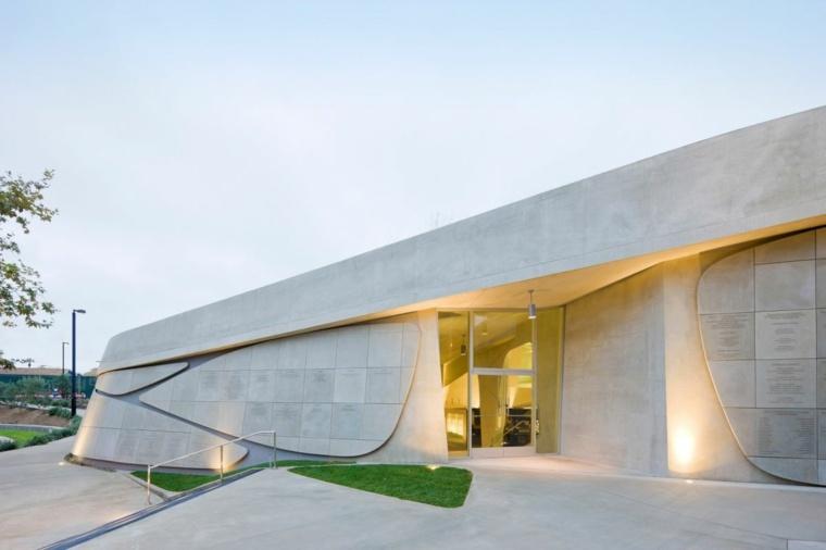 pasillos arquitectura moderna verde zonas