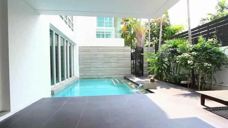 patio pequeño diseño minimalista