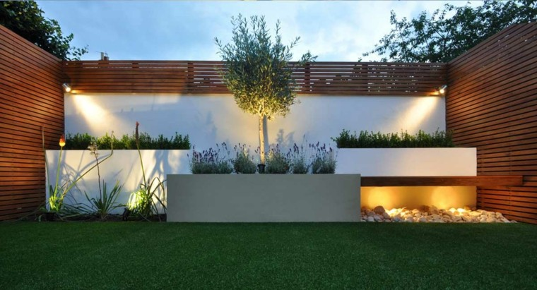 Decoracion de jardines con cesped artificial 50 ideas - Cesped artificial terraza ...