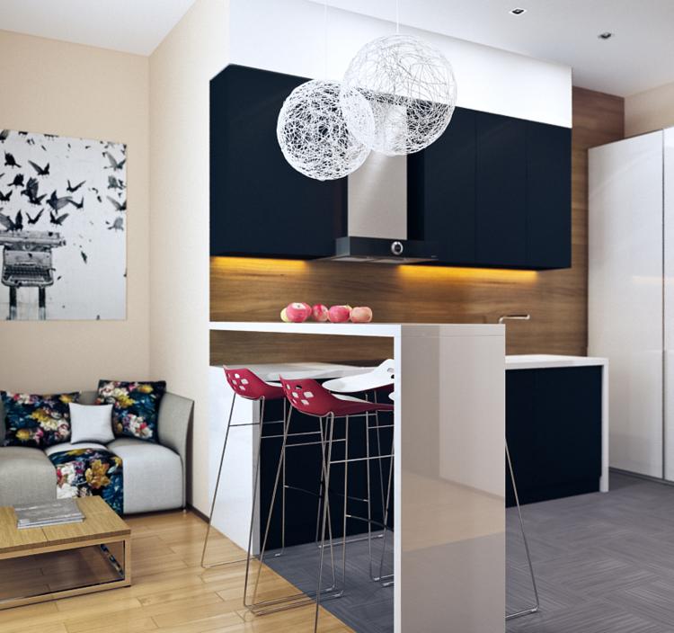 estupenda cocina muebles minimalistas