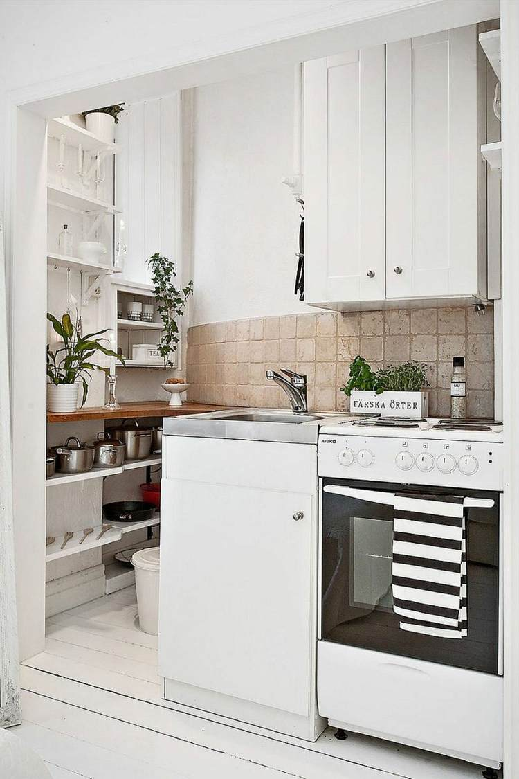 cocinas mini espacio reducido