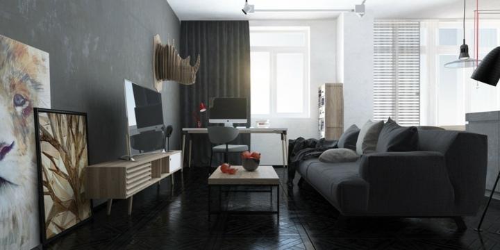 pesados muebles estilos animales paredes colores