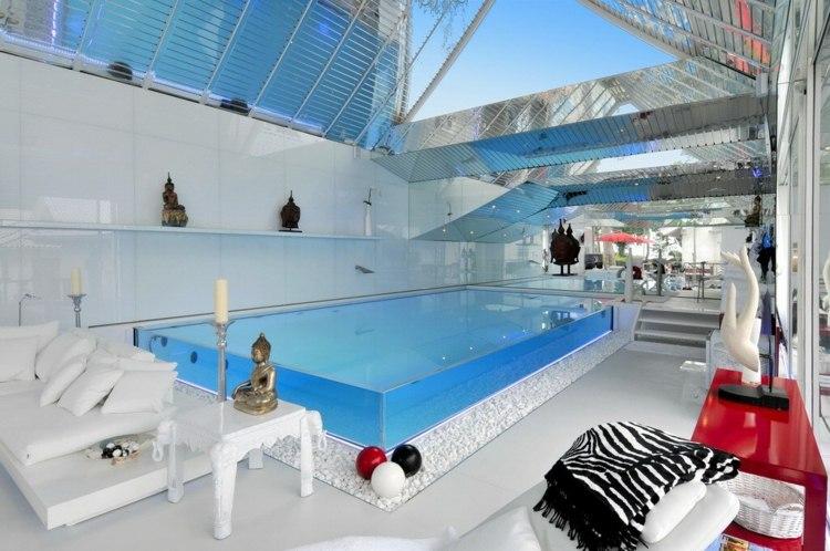 piscina cubierta diseo moderno - Piscinas Diseo