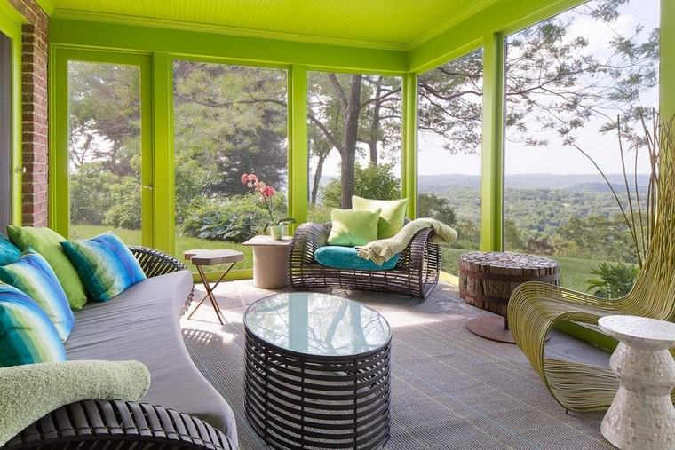 porches jardin diseno contemporaneo verde ideas