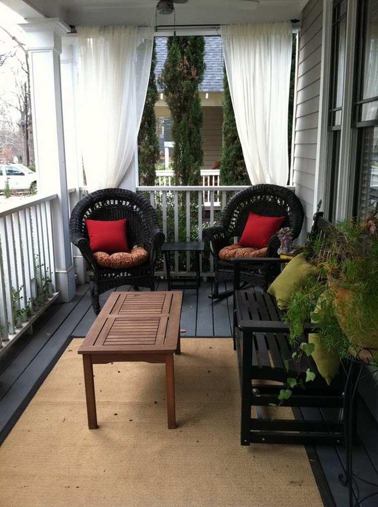 Porches jard n y muebles preciosos para la entrada - Porches de jardin ...