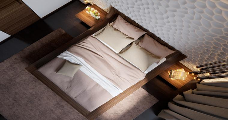 dormitorio moderno pequeño diseño