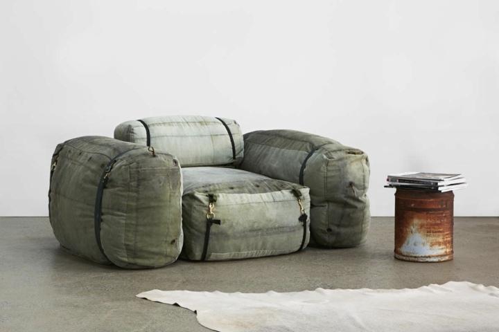 redondeados colores muebles oxido plaza