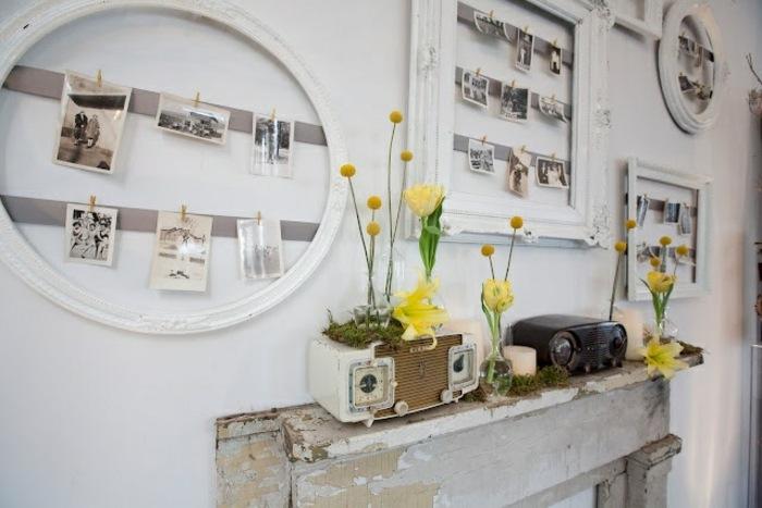 retro vintage decorados salones radio