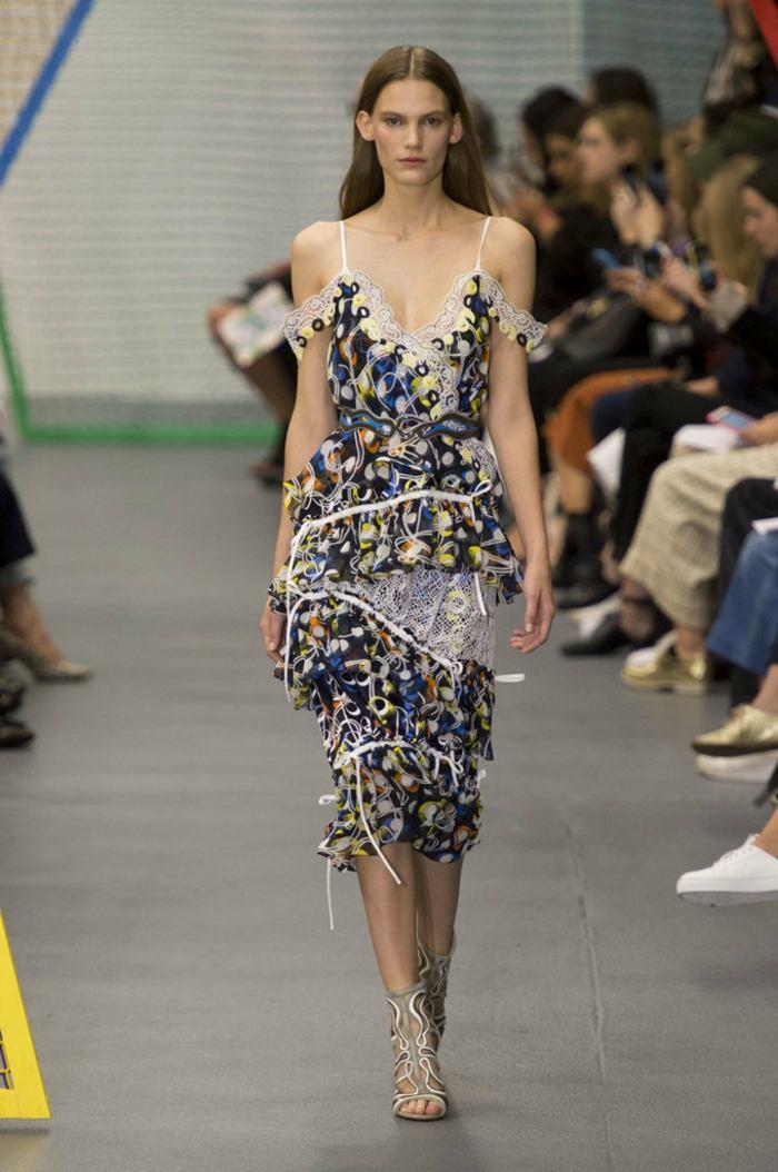 ropa de mujer semana moda Londes vestido ideas