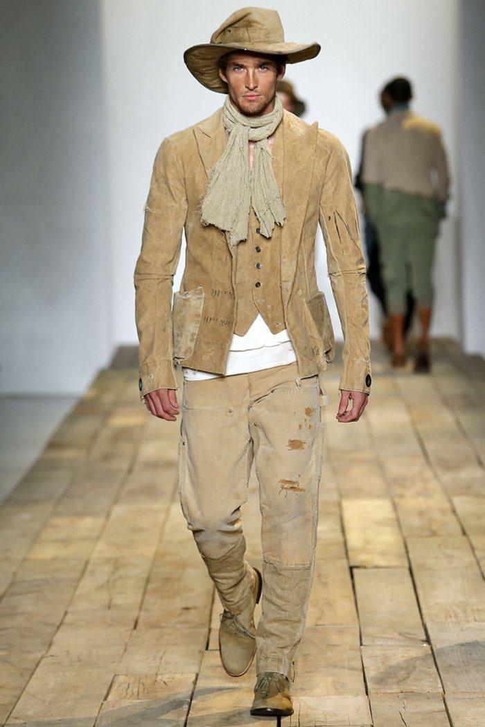 ropa diseno Greg Lauren chaqueta estilo safari ropa diseno ideas