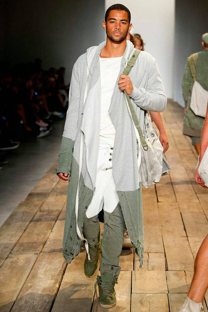 ropa diseno Greg Lauren estilo militar ideas