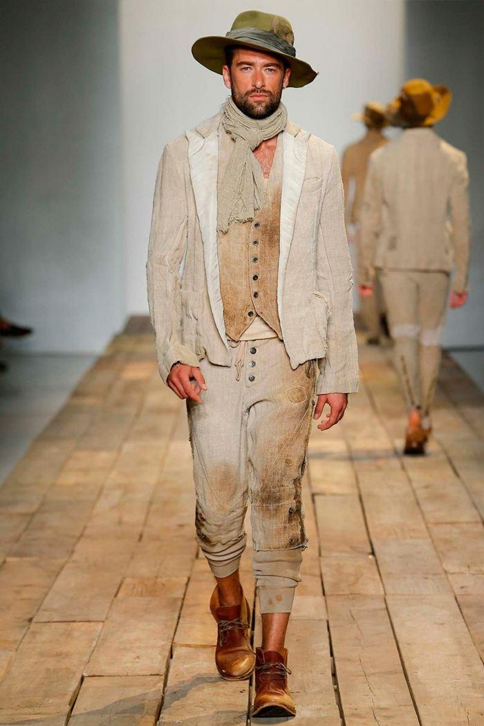 ropa diseno Greg Lauren safari estilo moderno ideas