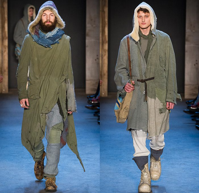 ropa diseno Greg Lauren semana moda Nueva York ideas
